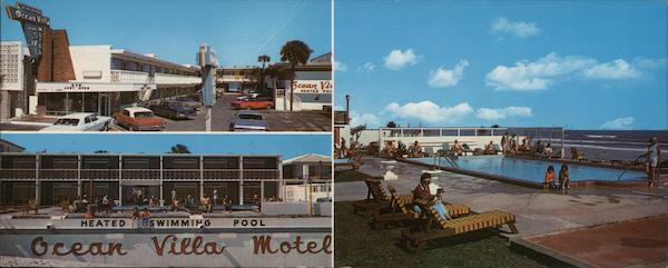 Brand New The Ocean Villa Motel Directly on The World's Most Famous Beach Daytona Beach Florida