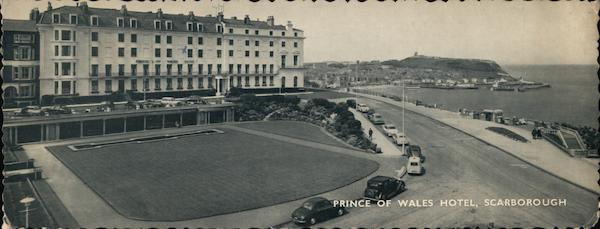 Prince of Wales Hotel Scarborough England Yorkshire