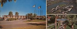 Fort Brown Motor Hotel Large Format Postcard