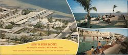 "Sun 'N Surf Motel ""Most Southerly Motel in Continental U.S.A."" on the Atlantic Ocean"