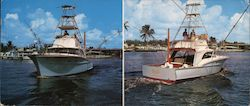 Yacht Pal's Charter Fishing Large Format Postcard
