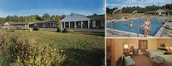Colonial Motel, Inc. Large Format Postcard
