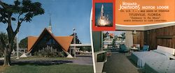 Howard Johnson's Motor Lodge and Restaurant Large Format Postcard