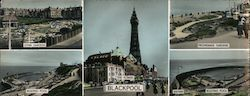 Blackpool Large Format Postcard