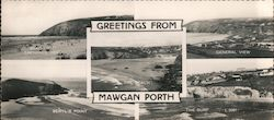 Greetings from Mawgan Porth