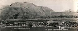 Fort William, Loch Linnhe, and Ben Nevis Large Format Postcard