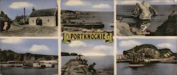 Six Color Photographs Of Portknockie In Moray Scotland Large Format Postcard