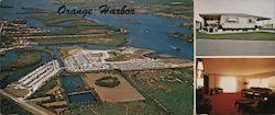 Orange Harbor Mobile Home Park Large Format Postcard