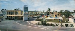Fair Winds Resort Motel 2935 North Federal Highway (U.S. No. 1) Large Format Postcard