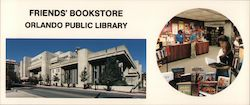 Friends' Bookstore Orlando Public Library Large Format Postcard