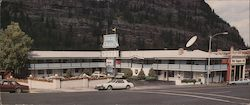 Ouray Chalet Motel Large Format Postcard