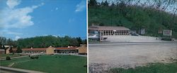 Mountain Top Motel & Restaurant Large Format Postcard