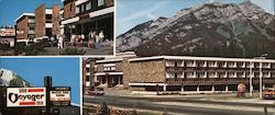 Banff's Voyager Inn Your All-Season Hotel Large Format Postcard