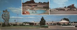 Mt. Vernon Motor Lodge U.S. Highways 60-65 And 166 Large Format Postcard