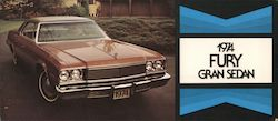 1974 Plymouth Fury Gran Sedan