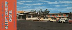 Vancouver Island's Sleepy Hollow Motel Courtenay, British Columbia Large Format Postcard