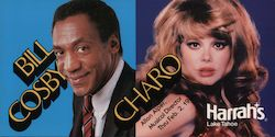 Bill Cosby and Charo - Harrah's Lake Tahoe