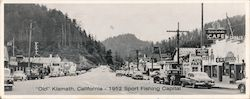 """Old"" Klamath, California - 1952 Sport Fishing Capital"