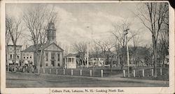 Colburn Park Looking North East Large Format Postcard