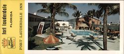 Best Western Motels Fort Lauderdale Inn Fort Lauderdale, Florida Large Format Postcard