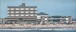 Beach Plaza Hotel and Bo Con Apts. 13th and Boardwalk Large Format Postcard