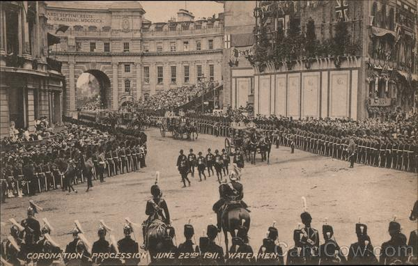 Coronation Procession June 22nd 1911 Watermen UK