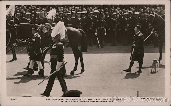 The Funeral Procession of the Late King Edward VII London England