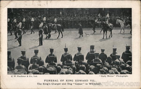 Funeral of King Edward VII London England