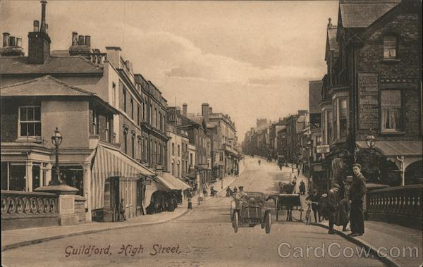 Guildford, High Street England
