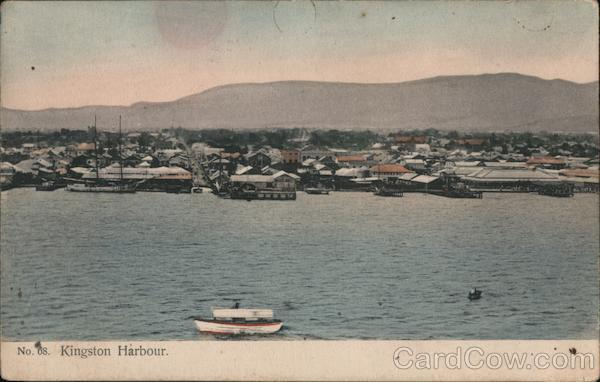 View of The Harbour Kingston Jamaica