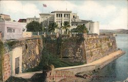 Governor's Palace, Old city, Wall and Gate, San Juan