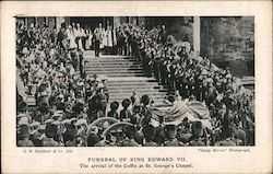 Funeral of King Edward VII Postcard