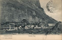 Gibraltar, Catalan Bay Postcard