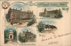 Glasgow, Places of interest Postcard