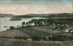Luss from Stone Hill, Loch Lomond Postcard