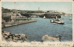 Plymouth, The Hoe Postcard
