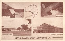 Greetings from Bonegilla Postcard