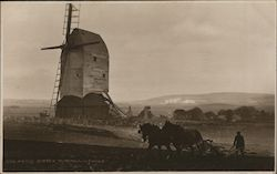 An old Sussex windmill