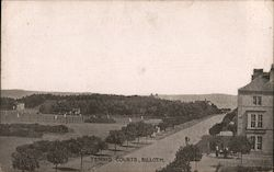 Tennis Courts, Silloth Postcard