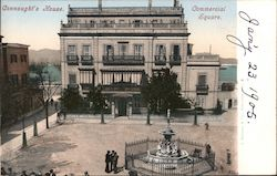 Connaught's House, Commercial Square Postcard
