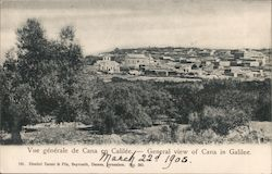 General view of Cana in Galilee