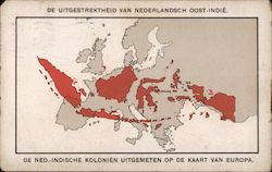 The span of the Dutch West Indies Compared to Europe