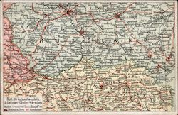 Russland WWI Map