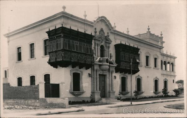 Spanish Style Building South America
