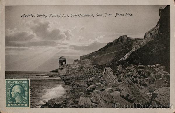 Mounted Sentry Box of Fort San Cristobal San Juan Puerto Rico