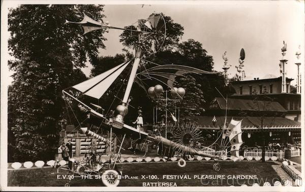 Festival Pleasure Gardens Battersea London England