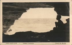 Jane Gale's Cave Postcard