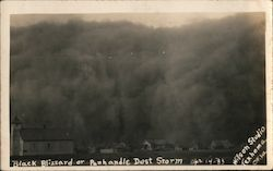 Black Blizzard or Panhandle Dust Storm