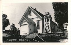 A Community House of Worship Postcard