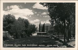 Truckee River and Riverside Hotel